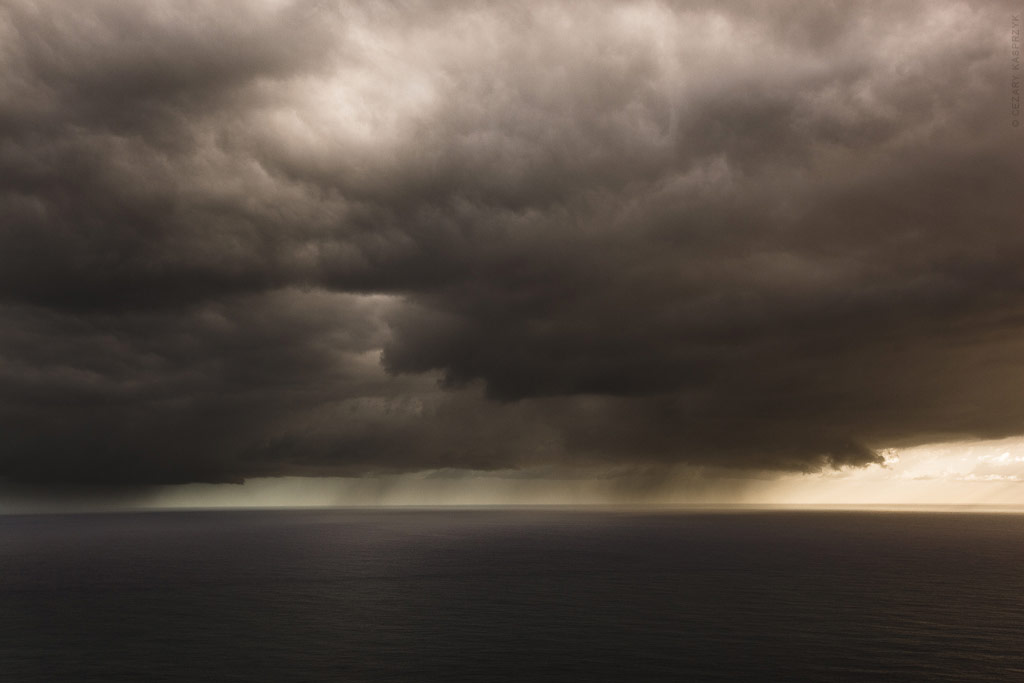 Cezary Kasprzyk Photography - New Zealand - Cape Reinga - Clouds - 2010