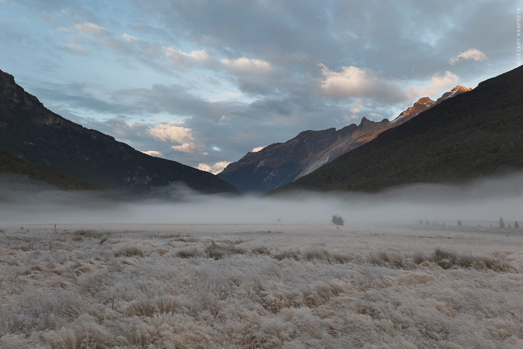 Cezary Kasprzyk Photography - New Zealand - Dart-Rees Track - Morning Hours - 2010