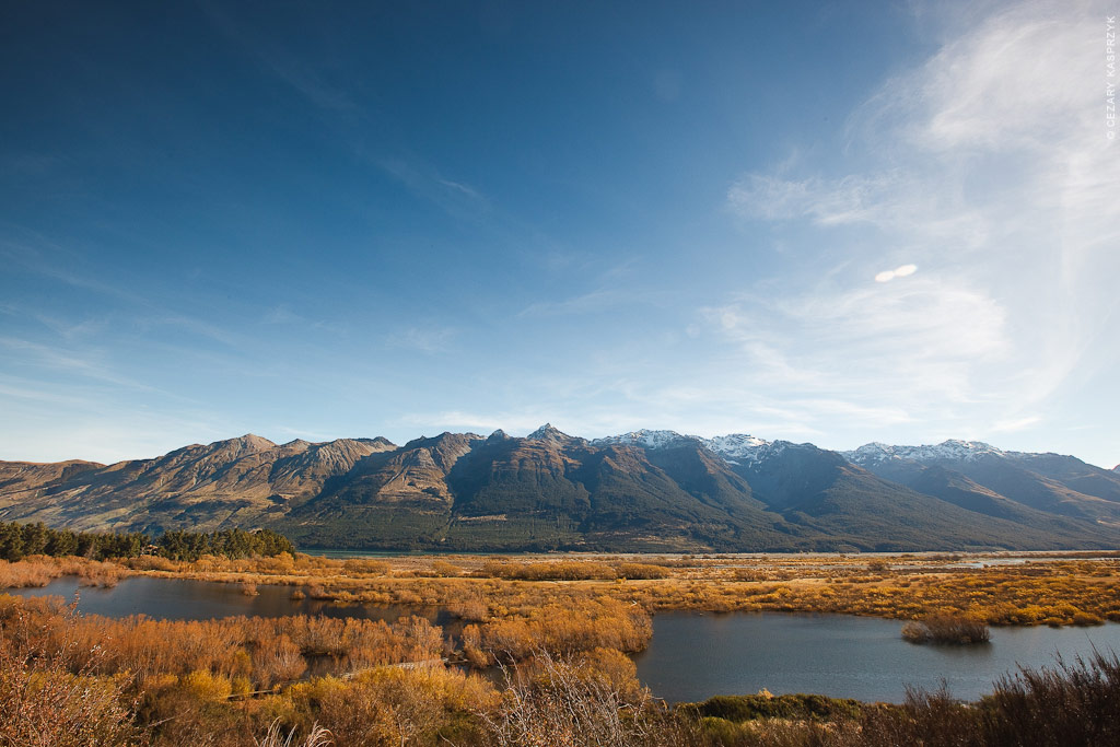 Cezary Kasprzyk Photography - New Zealand - Glenorchy - Humboldt Mountains - 2010