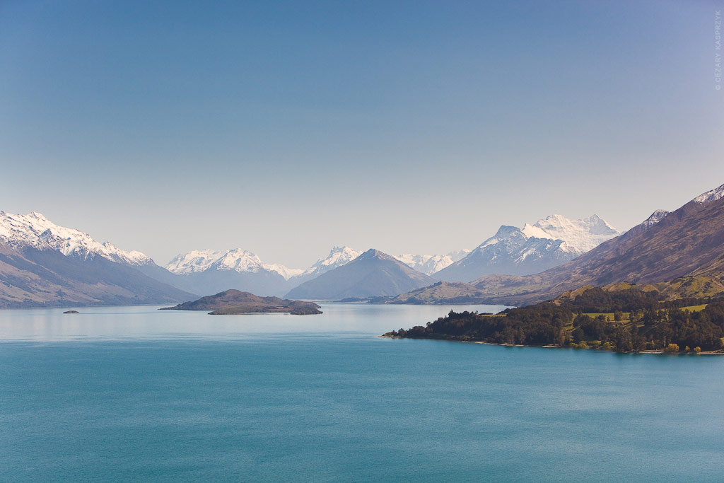 Cezary Kasprzyk Photography - New Zealand - Lake Wakatipu - Pigeon Island - 2010