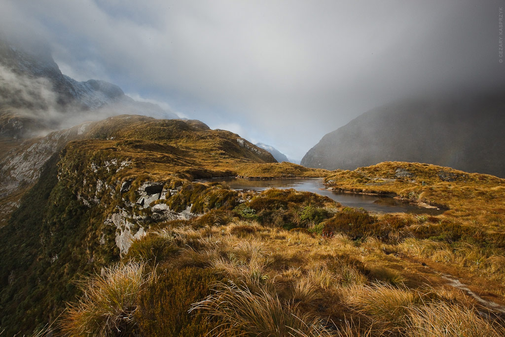 Cezary Kasprzyk Photography - New Zealand - Milford Track - Mackinnon Pass - 2010