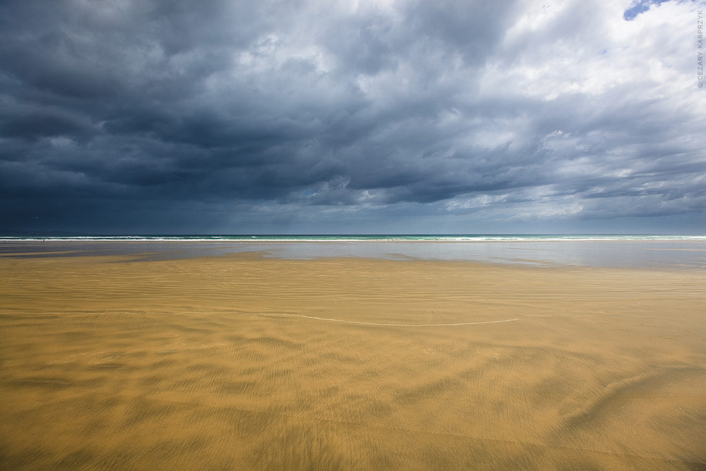 Cezary Kasprzyk Photography - New Zealand - Ninety Mile Beach - Kerstin - 2010