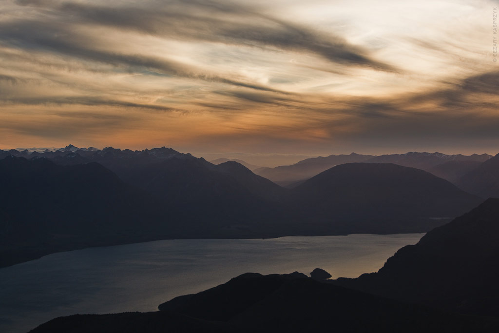 Cezary Kasprzyk Photography - New Zealand - Queenstown - Ben Lomond - Lake Wakatipu - 2010