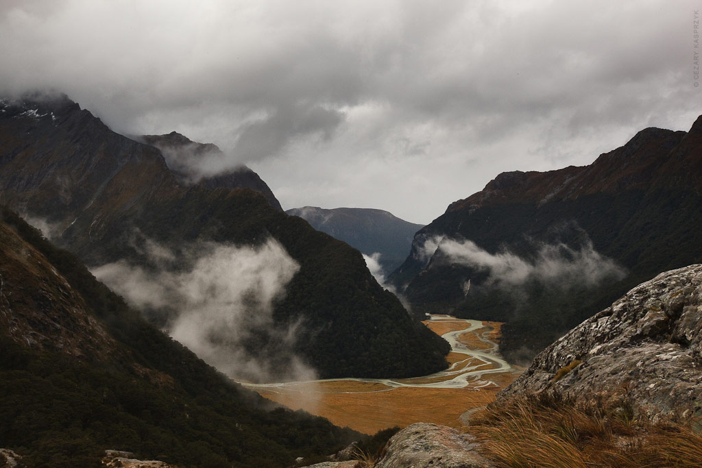 Cezary Kasprzyk Photography - New Zealand - Routeburn-Track - 2010