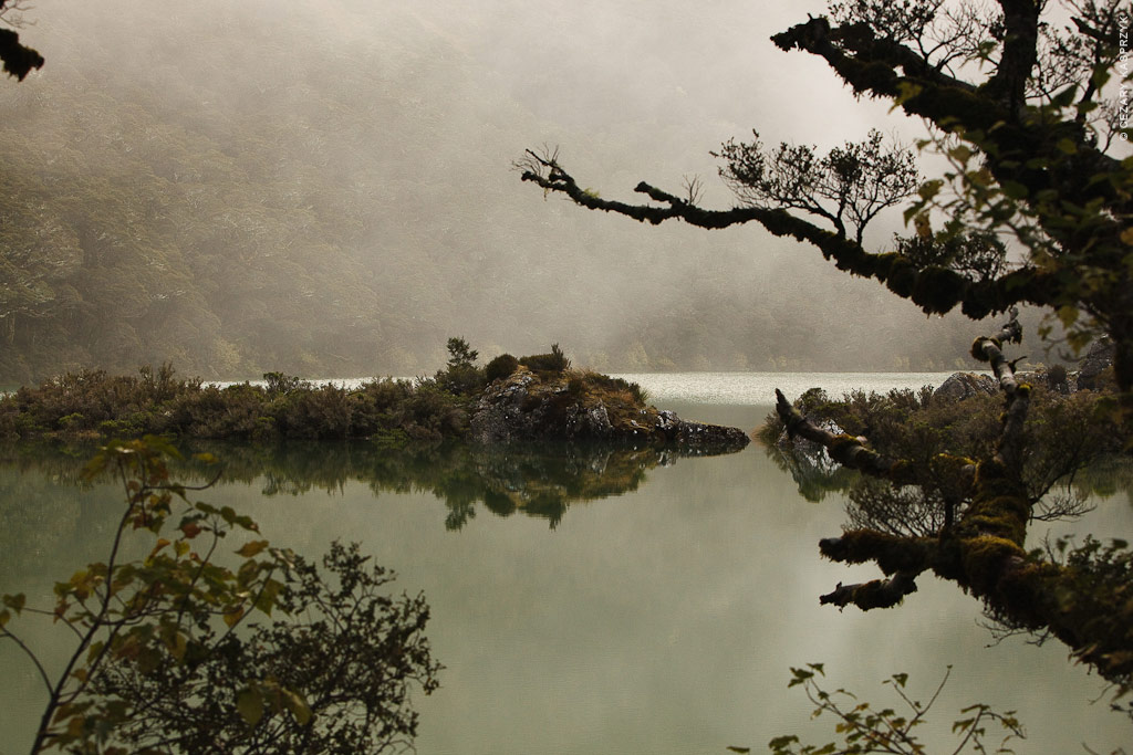 Cezary Kasprzyk Photography - New Zealand - Routeburn-Track - Lake Mackenzie - 2010